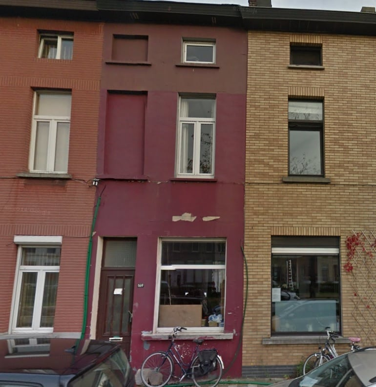 Sint-Amandsberg voor de renovatie